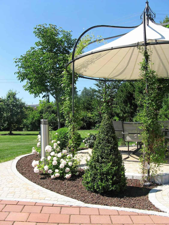 Beschattung Sichtschutz Bullinger Gartengestaltung