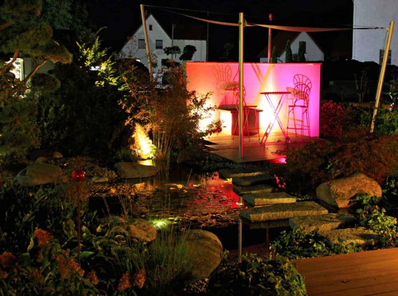Licht Im Garten Beleuchtung Garten Bullinger Gartengestaltung