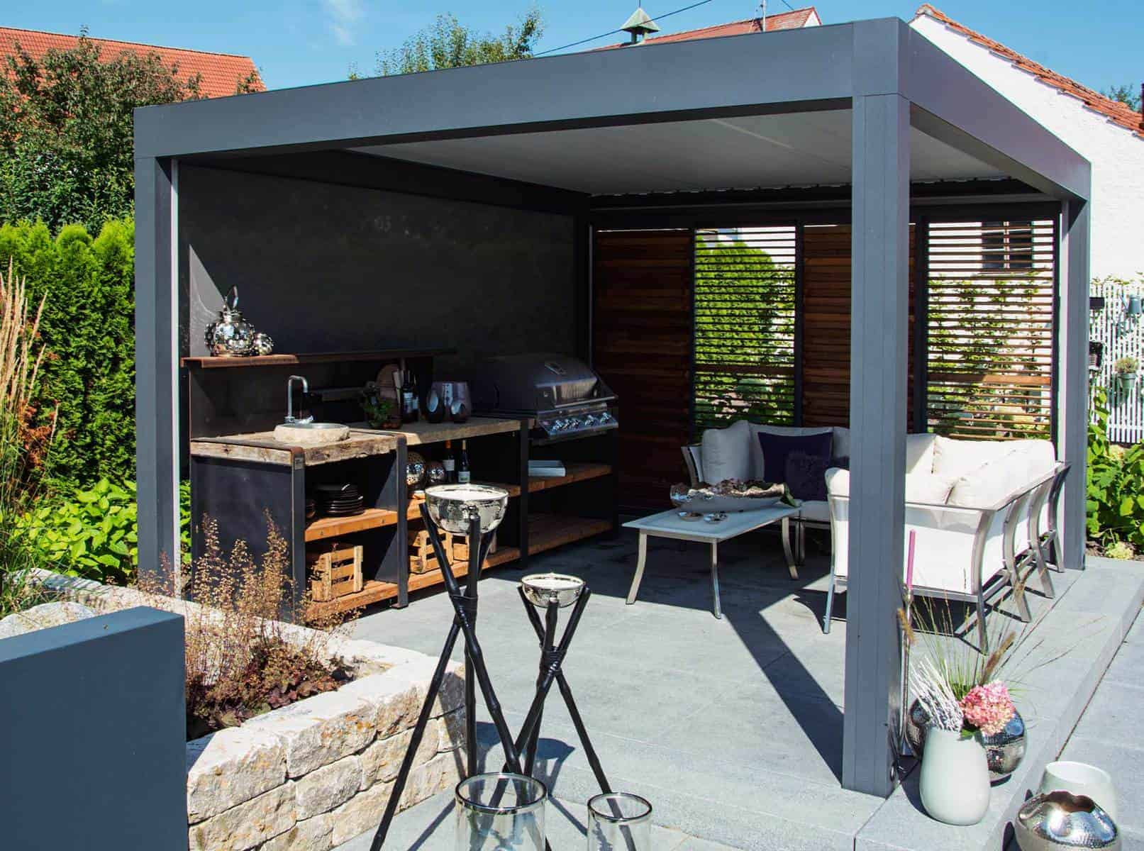Outdoor Küche Utensilien : Outdoorküche immobil mobil und modular